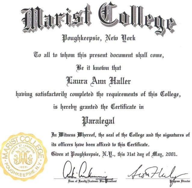 elwood paralegal certificate