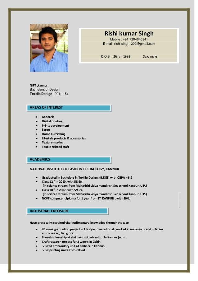 rishi resume