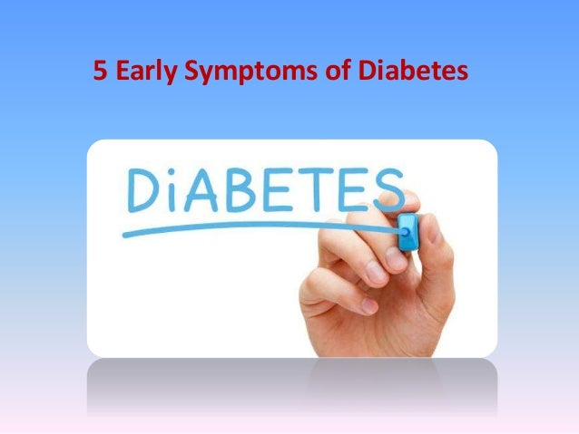 It is recommended that people should be tested for diabetes at an early age