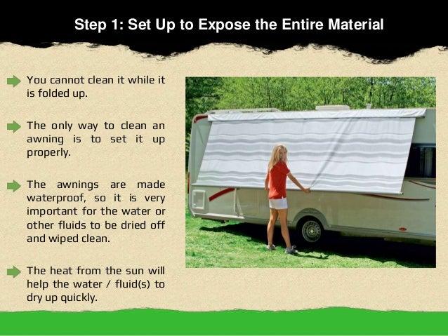 5 Easy Steps To Clean Caravan Annexes 2