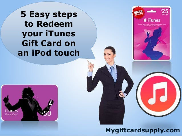 how to redeem itunes gift card on iphone 5 easy steps to redeem your itunes gift card on an ipod 20960