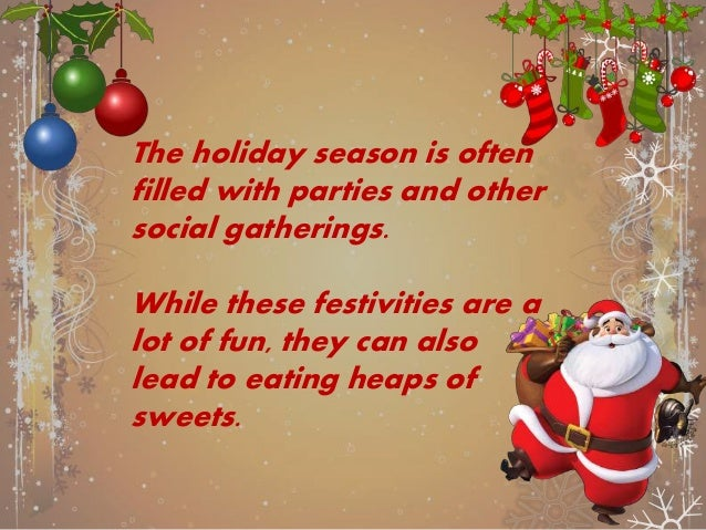 It's important to take care of your oral health during the holidays.