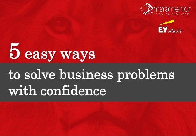5 easy ways