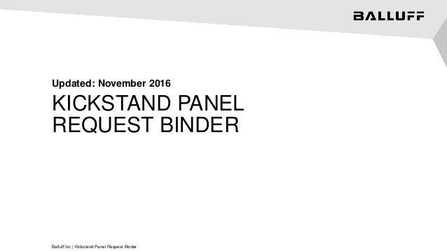 Kickstand Panel Request Binder_FINAL on