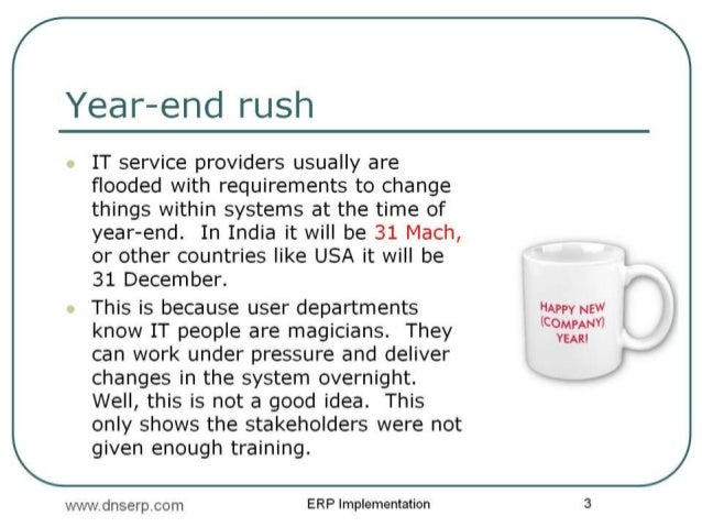 Year End rush - ERP and eCommerce Case study of FMCG companies in India  Slide 3