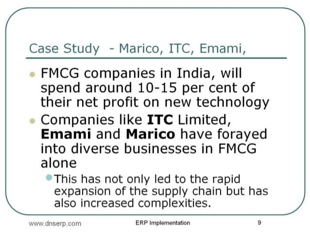 MIS reports on FMCG industry for any product
