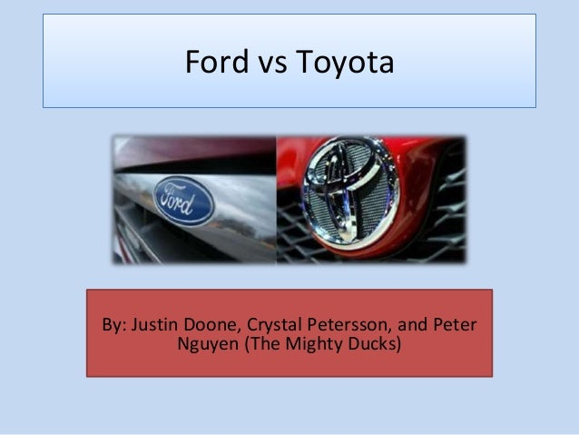 Ford Motor Company: Five Forces Analysis (Porter's Model)