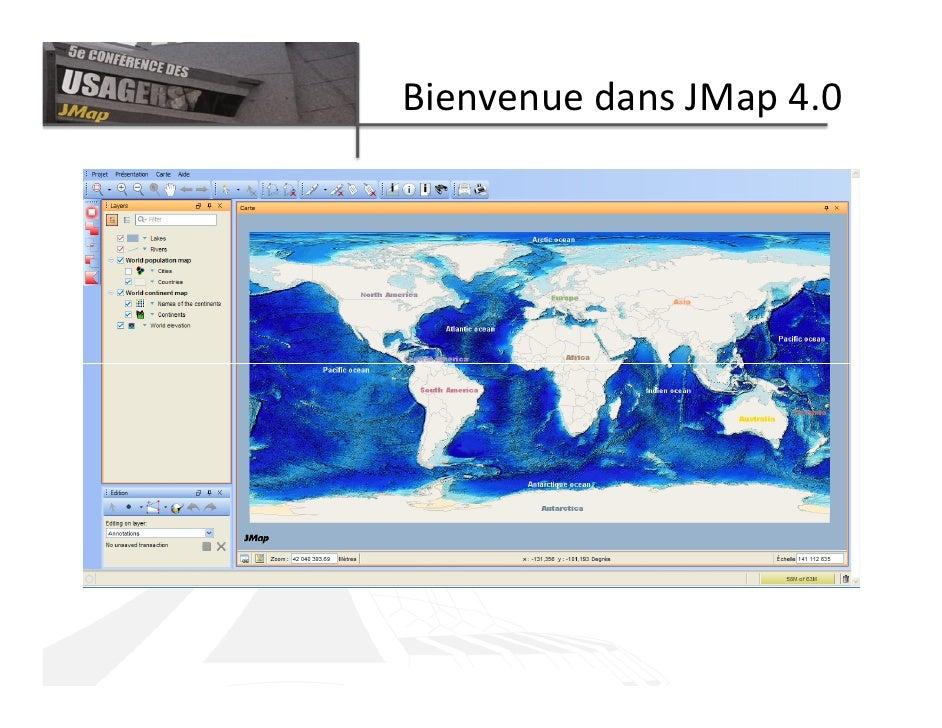 Bienvenue dans JMap 4.0