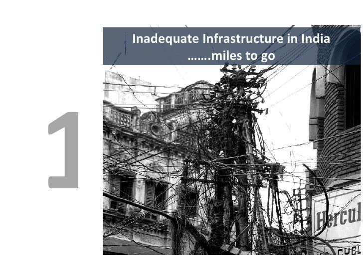 Inadequate Infrastructure in India …… .miles to go 1
