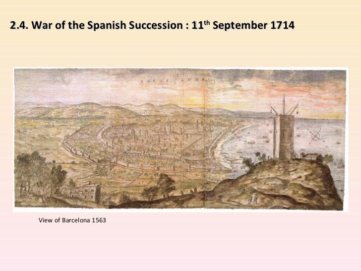5 edad moderna y guerra de sucesión inglés