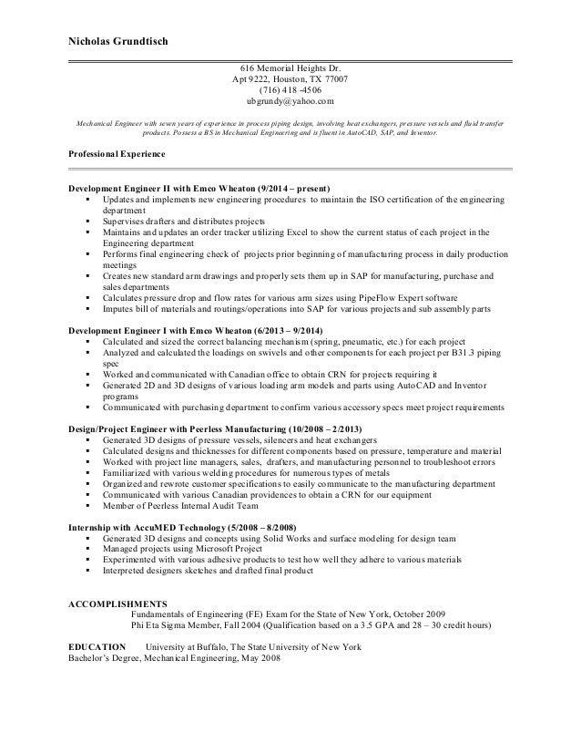 Fe Exam Resume Talktomartyb