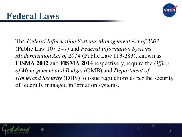 Information Security: Federal Information Security