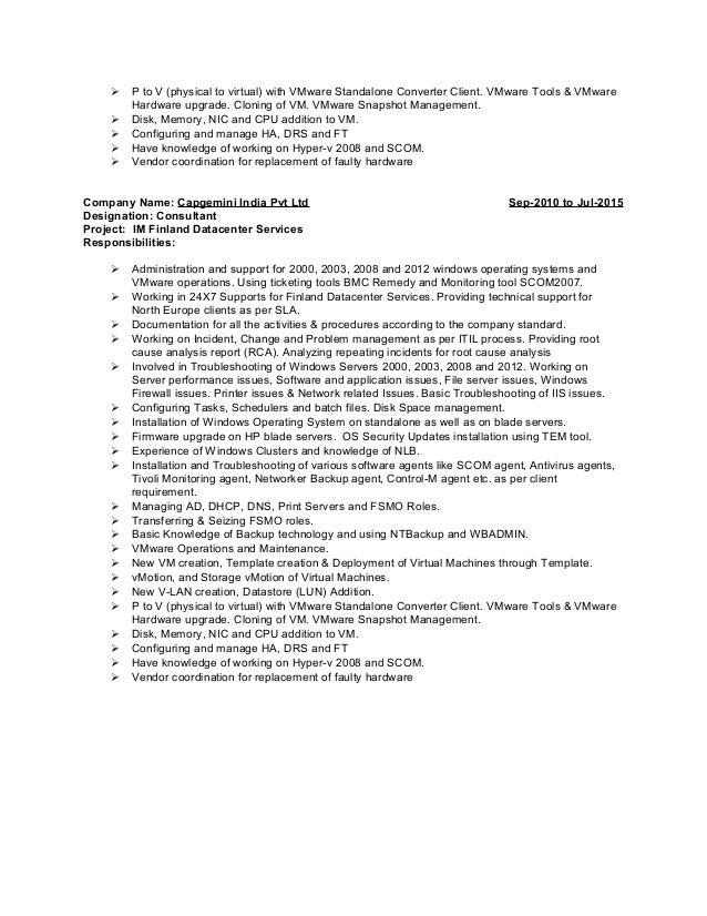 stunning vmware resume examples ideas simple resume office