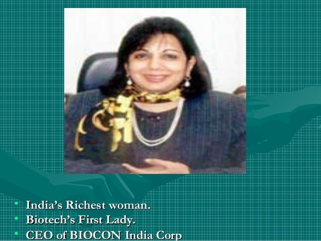 Richest lady in india