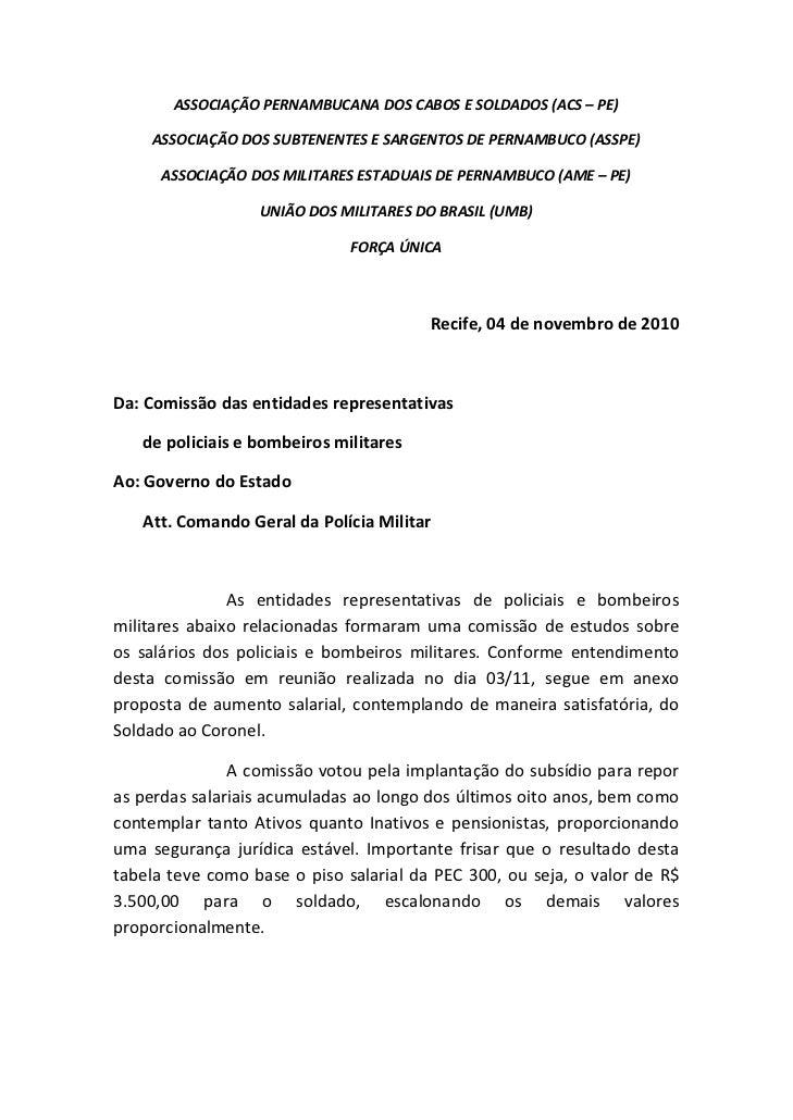 ASSOCIAÇÃOPERNAMBUCANADOSCABOSESOLDADOS(ACS–PE)     ASSOCIAÇÃODOSSUBTENENTESESARGENTOSDEPERNAMBUCO(ASSPE)...