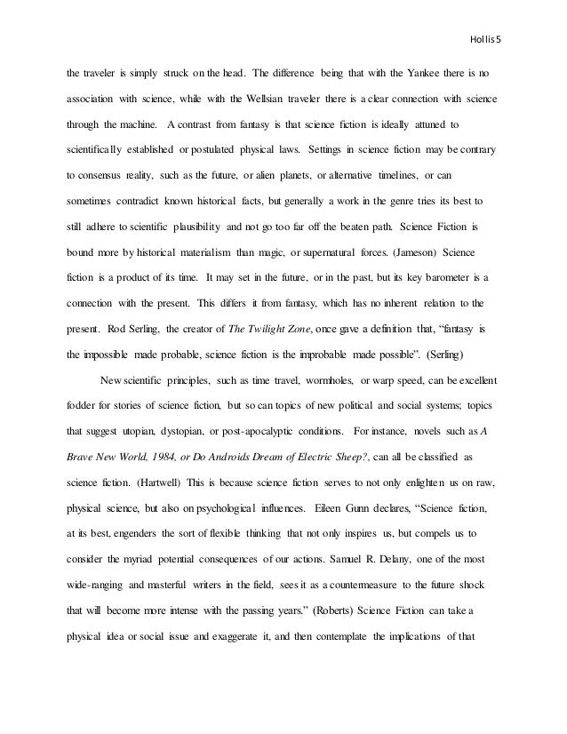 science fiction essay working draft   5