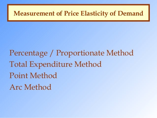 arc method of elasticity Start studying elasticity learn vocabulary, terms, and more with flashcards arc elasticity - midpoint is a method of estimating the price elasticity of demand by observing the change in total revenue that results from a price change.