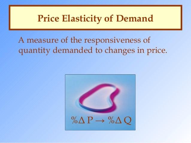 factors determining price elasticity of demand pdf