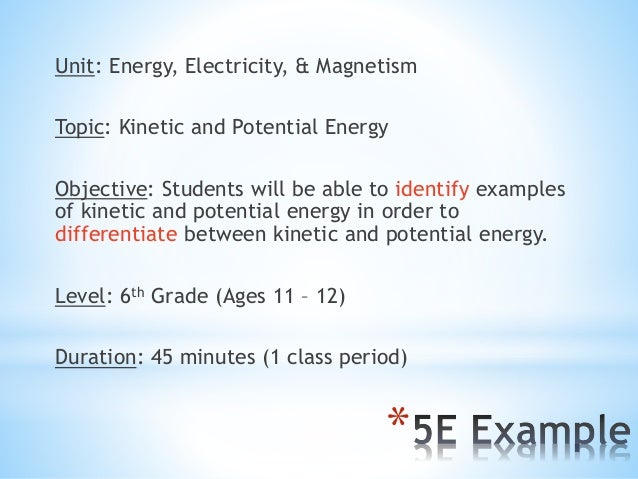 Electricity And Magnetism Unit Plan