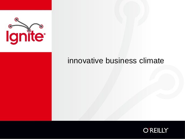 innovative business climate