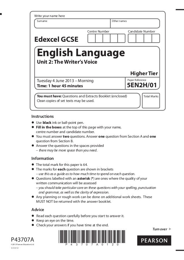 edexcel gcse english language past papers Our gcse (9-1) english language specification has been accredited by ofqual the specification is available to teach in schools and colleges in england from september 2015 gcse english language sams the sample assessment materials include exemplar question papers and mark schemes additional assessment.