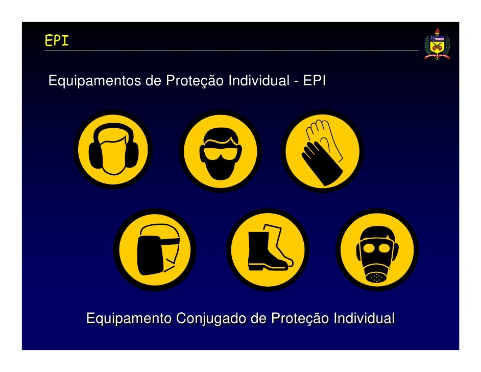 12f58790a4d38 ... 4. EPIEquipamentos de Proteção Individual - EPI Equipamento Conjugado  ...