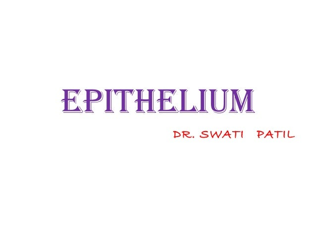 EPITHELIUM     DR. SWATI   PATIL