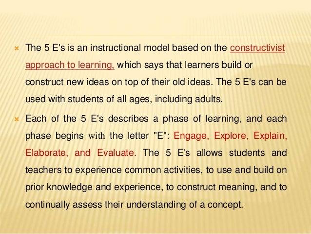 5 Es Model Lesson Plan