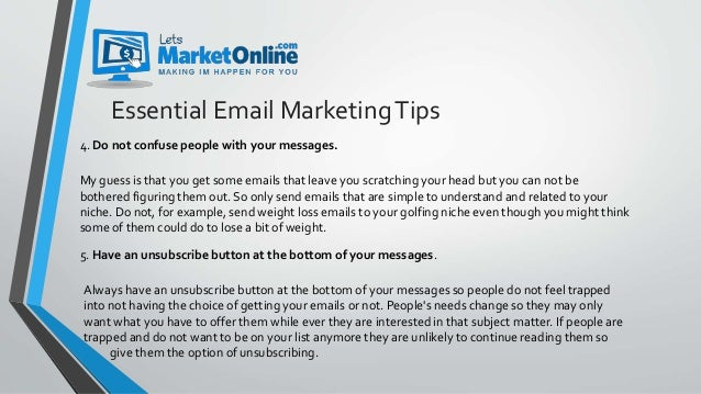 List Building 5 Essential Email Marketing Tips