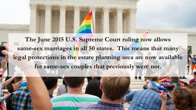 erisa and same sex marriage