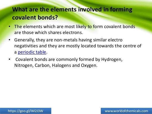 5 essential points covalent bonds