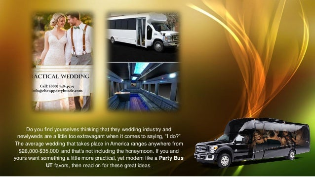 5 essentials to a practical wedding by chicago party bus dc
