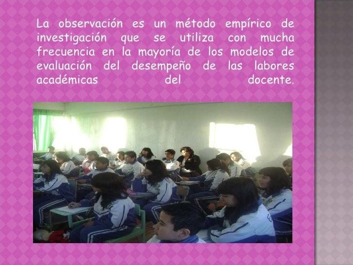 Evaluación del desempeño docente Slide 3