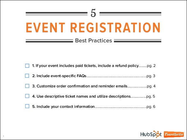 5 event registration best practices. Black Bedroom Furniture Sets. Home Design Ideas