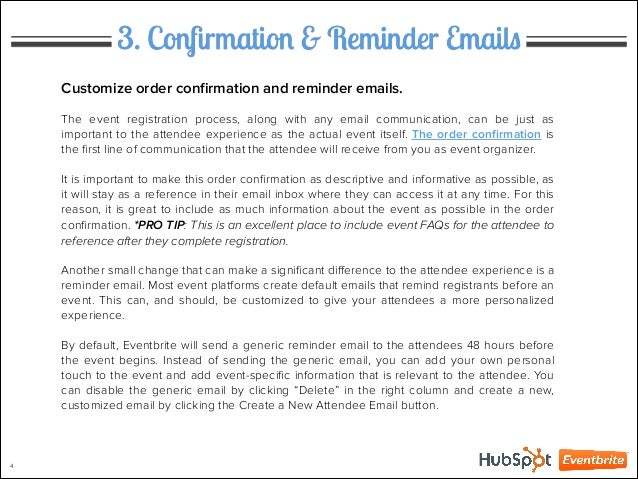 13 Great Event Reminder Email Techniques That Really Work!