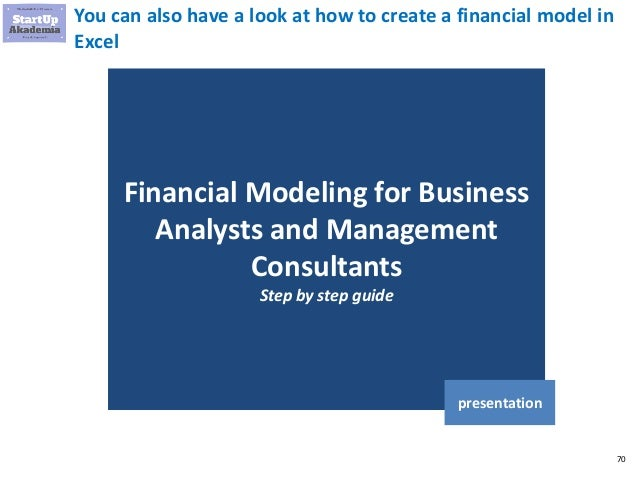 Technology Management Image: 5 Examples Of Business / Financial Models In Excel
