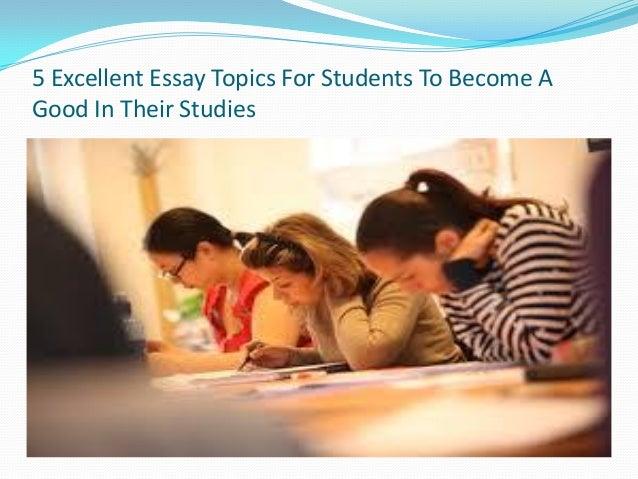 excellent college essay