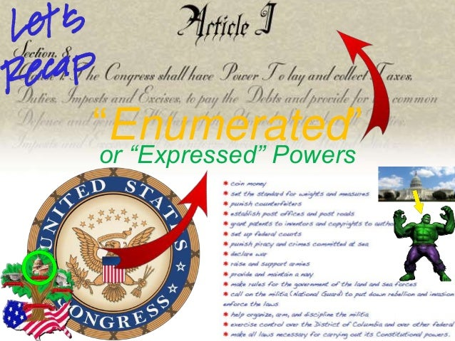 5 Exclusive Powers Of The U S House