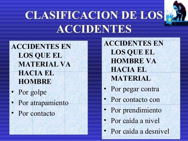 ACCIDENTES EN LOS QUE EL MOVIMIENTO RELATIVO ES INDETERMINADO • Por sobreesfuerzo • Por exposición
