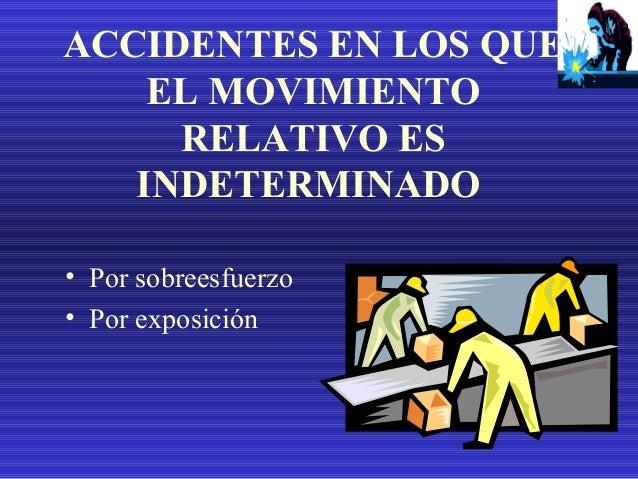 CAUSAS DE LOS ACCIDENTES • Hay dos grandes causas de accidentes: • El hombre • El medio ambiente