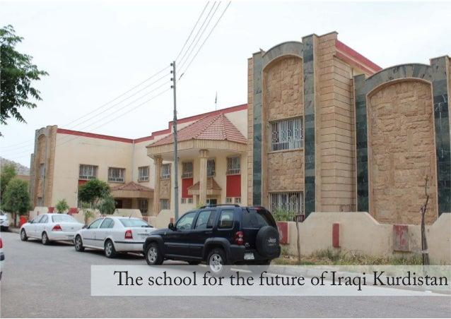 1 The school for the future of Iraqi Kurdistan