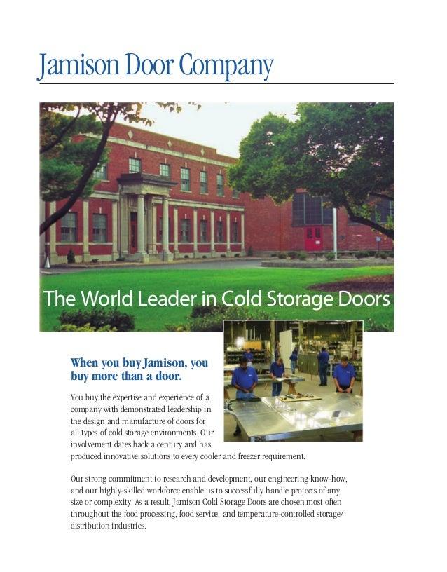 ... 2. JamisonDoorCompany When you buy Jamison ...  sc 1 st  SlideShare & Jamison Door Company Catalog