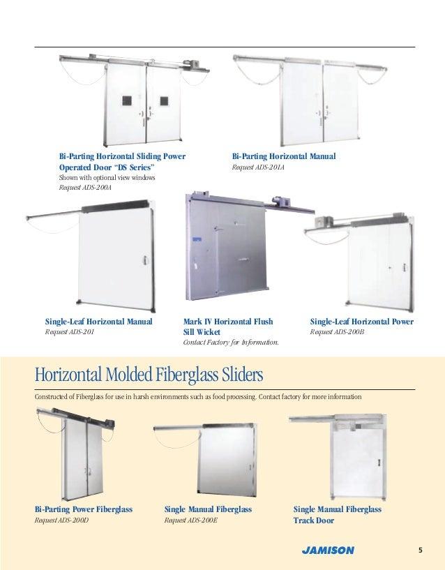 7. Bi-Parting Horizontal Sliding Power Operated Door u201c ...  sc 1 st  SlideShare & Jamison Door Company Catalog