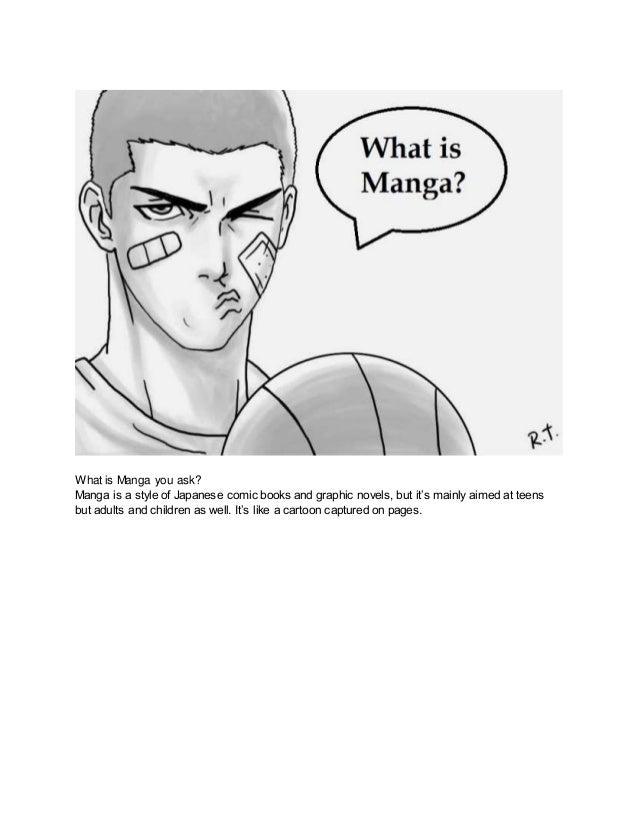 What is manga,