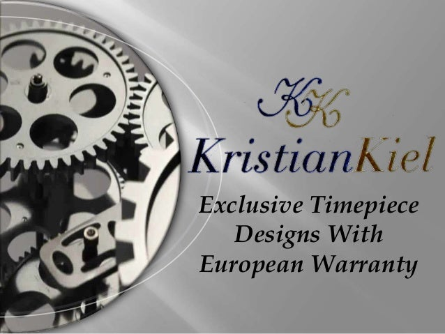 Exclusive Timepiece Designs With European Warranty