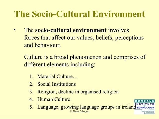 socio cultural factors in rural mktg Social and cultural factors are important to consider while creating and implementing a marketing strategy of a company these often-linked but somewhat different factors have diverse effects on the decisions of consumers and buyers sociocultural factors are customs, lifestyles and values that characterize a society.