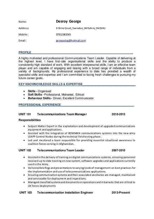 recreation coordinator resume recreation coordinator resume