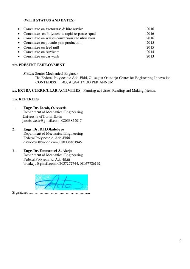 6 (WITH STATUS AND DATES)  Committee on tractor use & hire service 2016  Committee on Polytechnic rapid response squad 2...