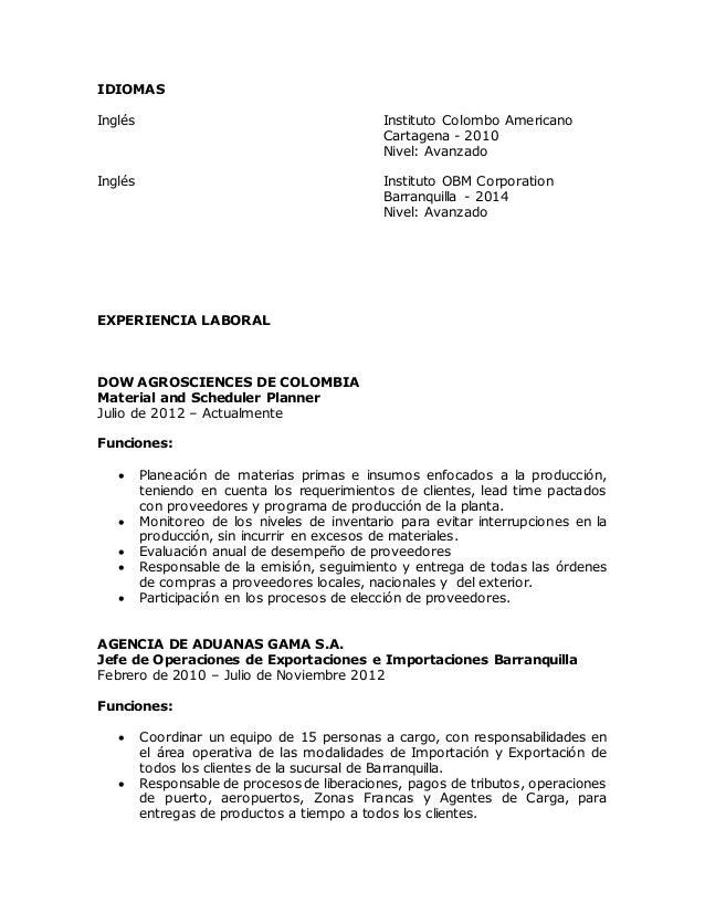 Vistoso Reanudar Gerente De Exportación De Importación Colección ...