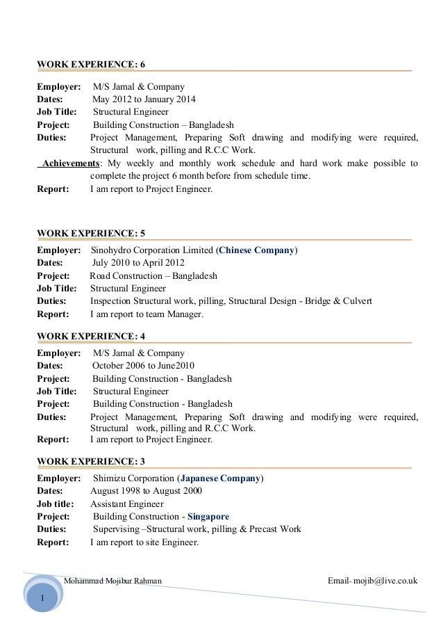 Civil Engineer PC (Precast Concrete) Engineer
